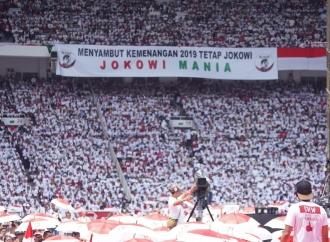 Kampanye Akbar Jokowi Amin Putihkan GBK