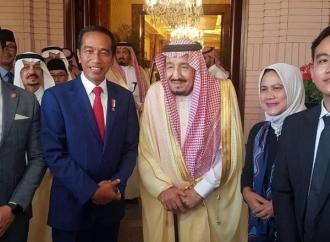 Temui Raja Salman, Jokowi Ajak Gibran dan Kaesang