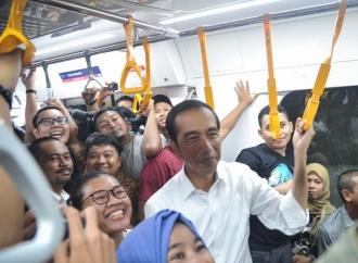 Suara Jokowi-Amin Tetap Unggul di Minggu Pagi