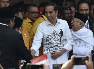 Situng KPU Terbaru, Jokowi-Ma'ruf Raih 55,02 Persen Suara