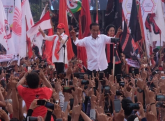 """""""Real Count"""" KPU, Jokowi Raih 57,2 Persen Suara di Kaltim"""