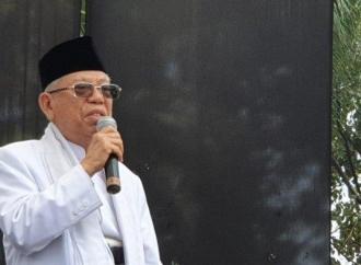 Kiai Ma'ruf Hadiri Tasyakuran Pemilu di Yogyakarta
