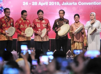 Jokowi: Ekspor Produk Produk Kerajinan Bisa Ditingkatkan