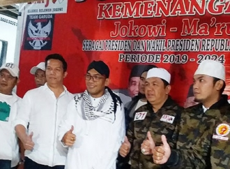 Relawan Jokowi-Kiai Ma'ruf Gelar Syukuran Budaya di Bandung