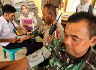 Tenaga Kesehatan Siap Diterjunkan di PPK Kabupaten Landak