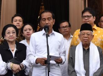 Rekap Terbaru, Jokowi Ungguli Prabowo dengan 56,11 Persen