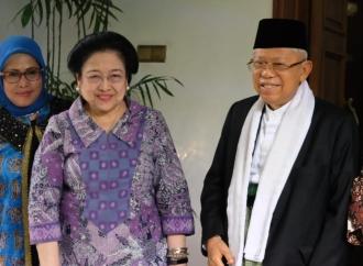 Kiai Maruf Silaturahmi ke Ibu Megawati Soekarnoputri