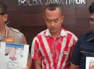 Lagi-lagi... Pengancam Bunuh Jokowi Ditangkap Polda Jatim