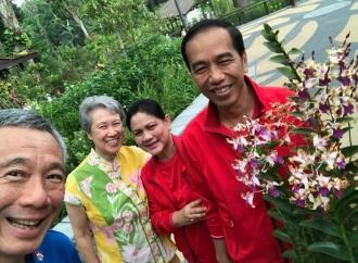 Presiden dan PM Singapura Beri Selamat kepada Jokowi