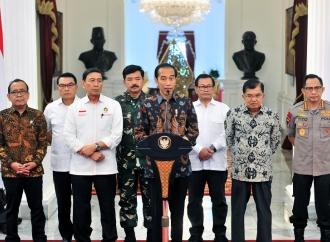 Presiden Jokowi Pastikan Situasi Keamanan Terkendali