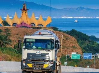 Jalan Tol Sumatera Sepanjang 503 km Siap Digunakan Pemudik