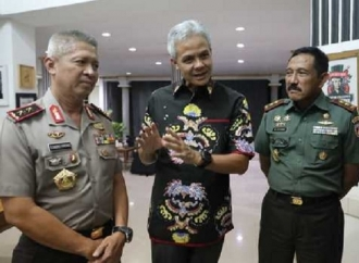 Ganjar: Polisi Harus Usut Sengkuni Provokasi Massa 22 Mei