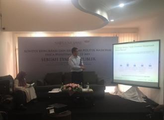 Mayoritas Rakyat Indonesia Percaya Pemilu 2019 Jurdil