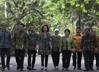 Presiden Jokowi Temui Pansel Calon Pimpinan KPK