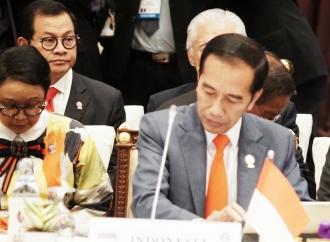 Presiden Jokowi Ingatkan Perang Dagang AS-RRT Bisa Merembet