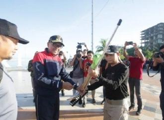Launching Gema Sabtu, Nurdin Ajak Warga Sadar Kebersihan