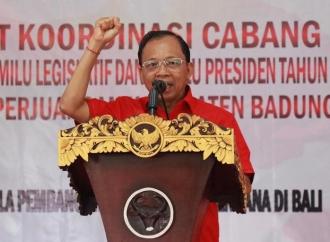 Koster Tegaskan, Bali Solid Dukung Megawati Jadi Ketua Umum
