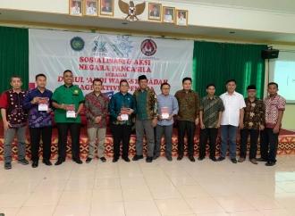 Sosialisasikan Pancasila Sebagai Darul 'Ahdi Wasy Syahadah