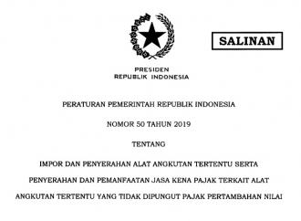 PP Jokowi Bebaskan PPN Impor Kapal Demi Daya Saing