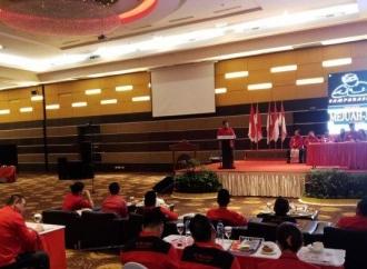 Buka Konferda & Konfercab, Olly Teruskan Pesan Megawati