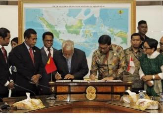Indonesia-Timor Leste Rampungkan Kesepakatan Batas Darat