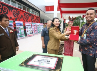 Puskesmas Karangan Jadi Percontohan di Indonesia