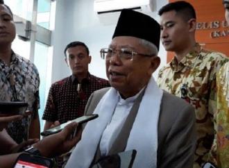 Kiai Ma'ruf Amin Tak Dilibatkan Dalam Pembahasan Kabinet