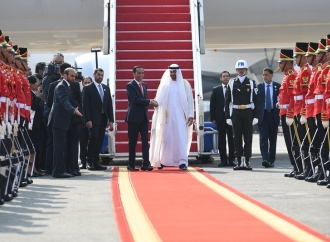 "Presiden Pamerkan ""Ikon"" Jakarta ke Putra Mahkota Abu Dhabi"
