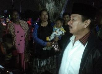 Dampak Gempa, Herman HN Tinjau Tenda Pengungsian
