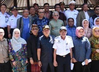Komisi V Tinjau Pelabuhan di Pantai Matahari Terbit Sanur