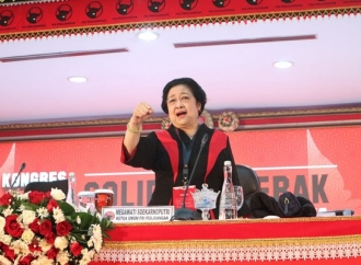 Sampaikan LPJ, Megawati Ingatkan Pentingnya Kantor Partai
