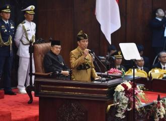 Pidato Jokowi Ingatkan tentang Ideologi dan Karakter Bangsa