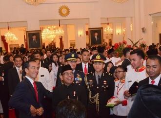 Presiden Minta Yang Dari Aceh Kenal Yang di Papua