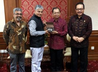 Koster Terima Kunjungan Duta Besar India