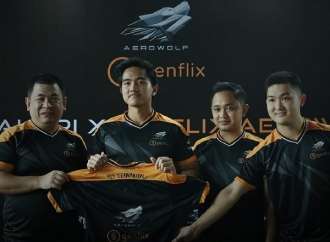 Kaesang Perkenalkan Diri Sebagai Anggota Aerowolf Genflix