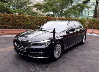 BMW Seri 750 Siap Jadi Mobil Dinas Baru Jokowi