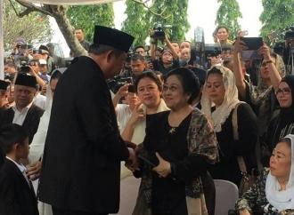 Ketum PDI Perjuangan Megawati Ucapkan Dukacita Untuk SBY