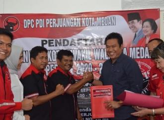 DPC Medan Terima Sutrisno Pangaribuan di Hari Terakhir