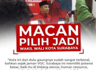 Macan Lebih Pilih Jadi Wakil Wali Kota Surabaya