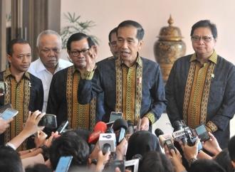 Presiden Jokowi Ingatkan Pimpinan KPK Bijak Dalam Bernegara