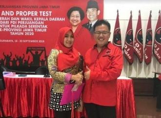 Nawa Tirta Diusung Ning Lia di Tes 'Fit & Proper' DPC Jatim