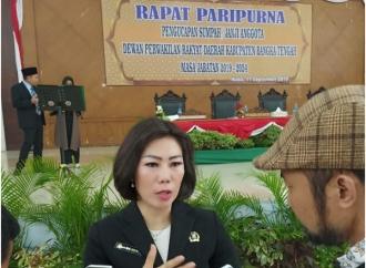 Jadi Ketua DPRD Bateng, Me Hoa Tak Pikirkan Pilkada