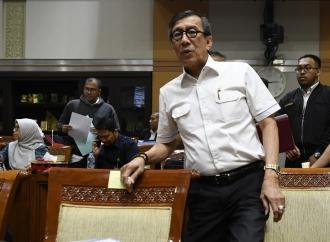 Ini Jawaban Yasonna Terkait Tudingan Wakil Ketua KPK