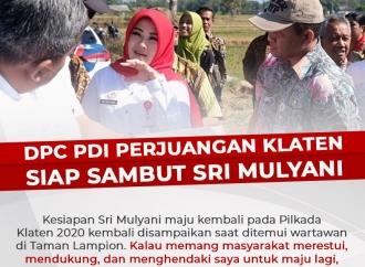 DPC PDI Perjuangan Klaten Siap Sambut Sri Mulyani