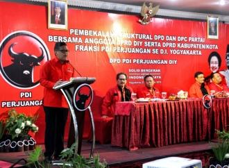 DPD PDI Perjuangan DIY Gelar Pembekalan