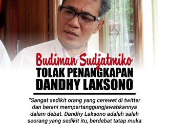 Sosok Dandhy Laksono Dimata Budiman Sudjatmiko