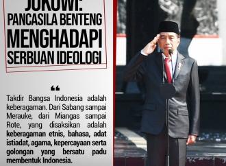 Pancasila benteng menghadapi serbuan ideologi.