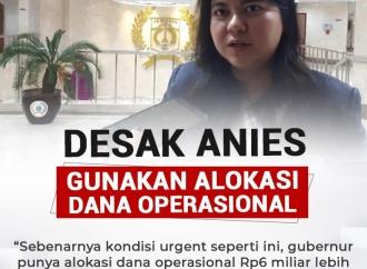 Ima Desak Anies Gunakan Alokasi Dana Operasional