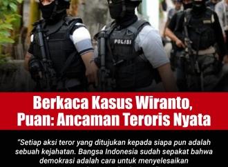 Berkaca pada Kasus Wiranto, Puan: Ancaman Teroris Nyata