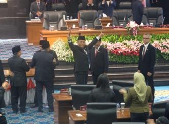 Sah! Prasetio Edi Pimpin DPRD DKI Jakarta